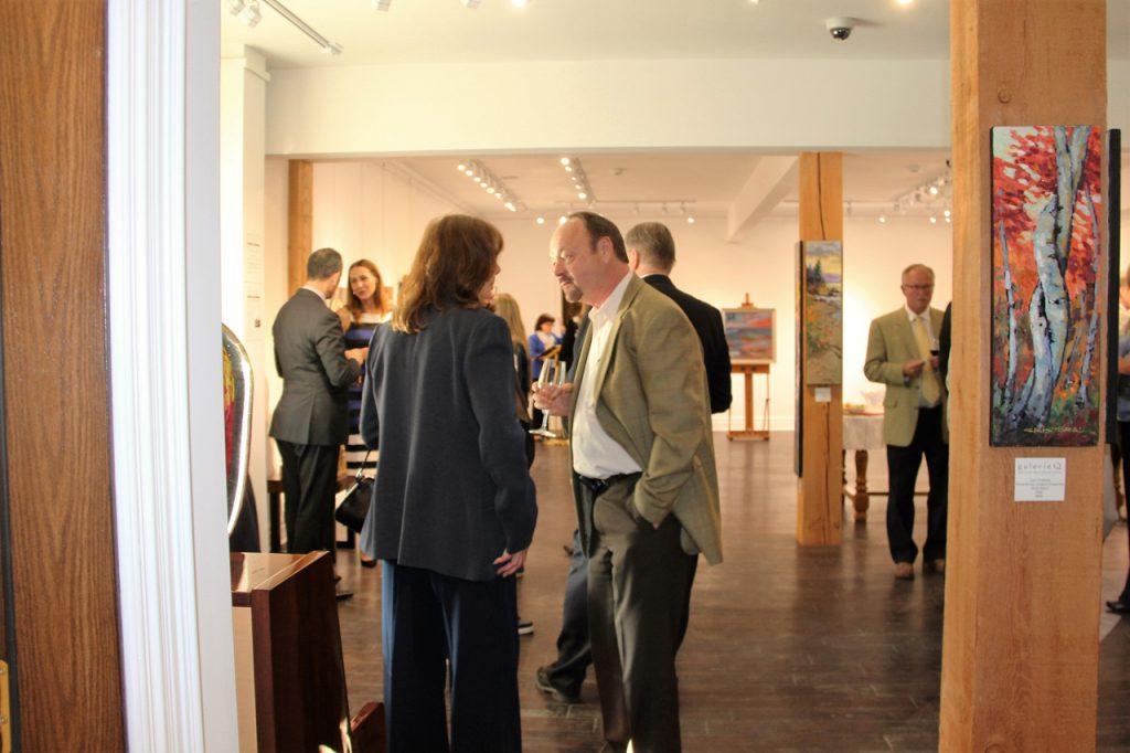 art gallery event