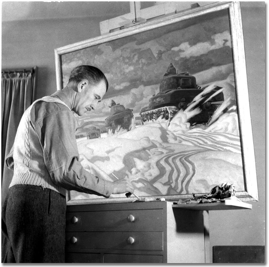A. J. Casson Canadian painter