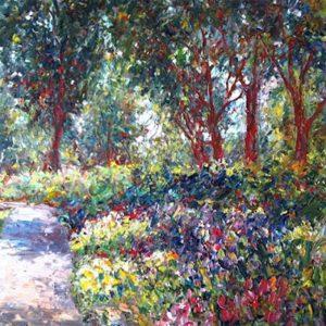 Jardin du Parc jeanne D'Arc Quebec