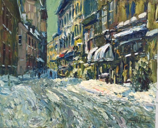 Rue Sault Au Matelot Vieux Quebec