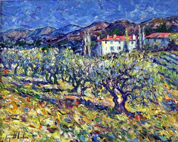 Vue de la Bastide Domaine Souviou-Provence